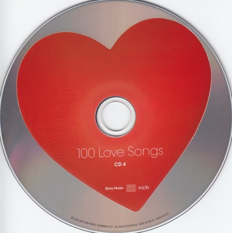 100 Love Songs cd 4