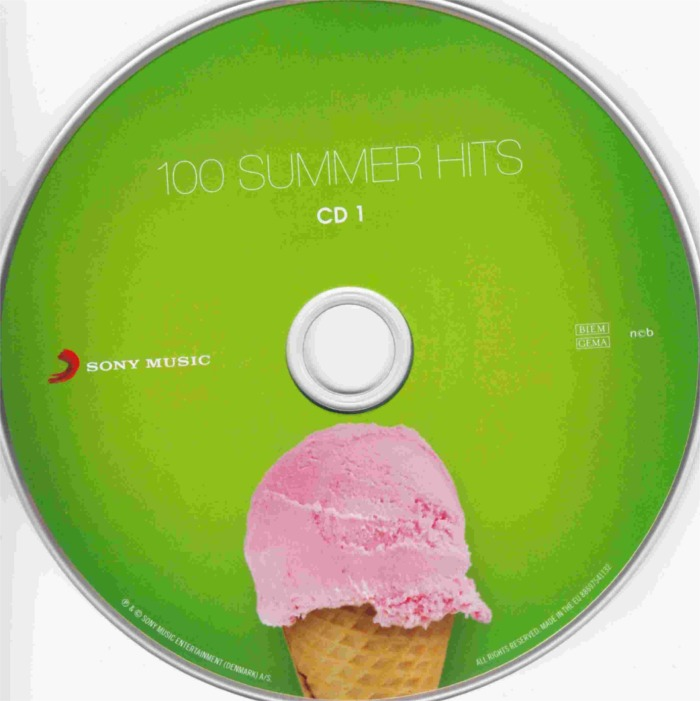 100 Summer Hits-cd 1