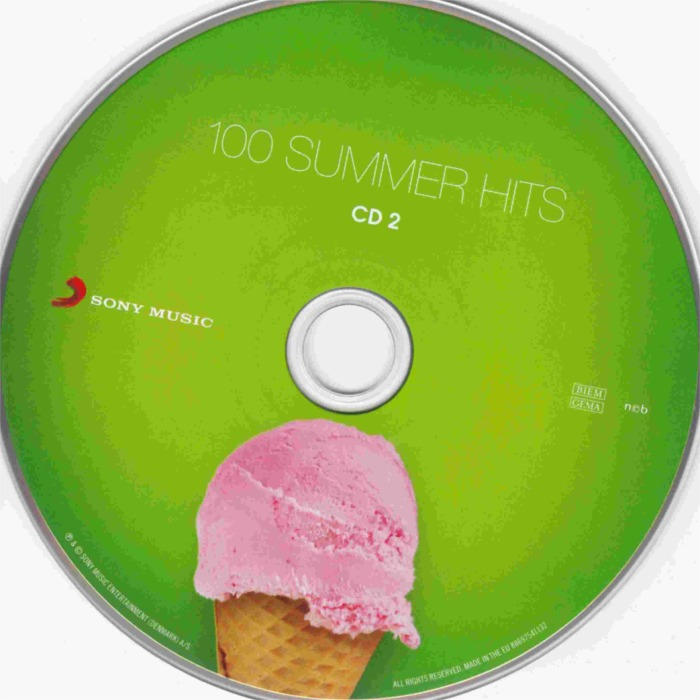 100 Summer Hits-cd 2