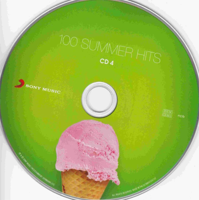 100 Summer Hits-cd 4