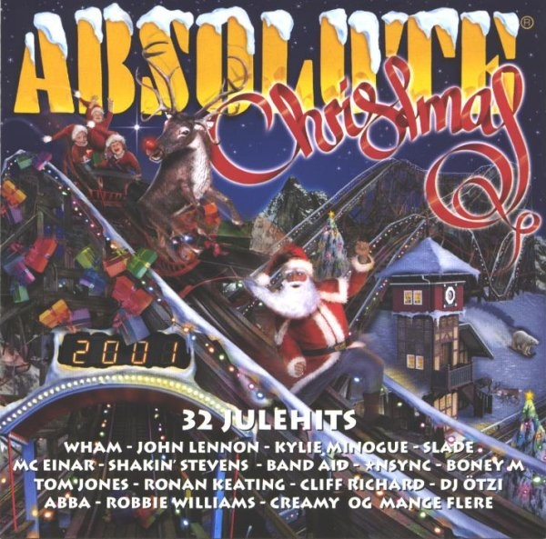 Absolute Christmas 2001 forside
