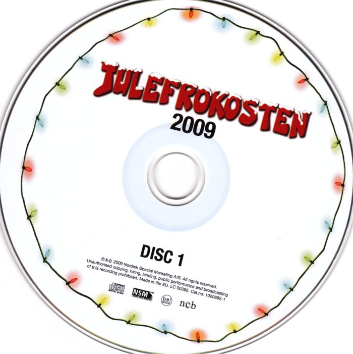 Julefrokosten Soundtrack - cd1