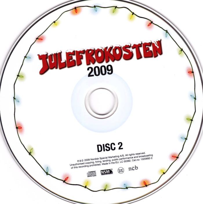 Julefrokosten Soundtrack - cd2