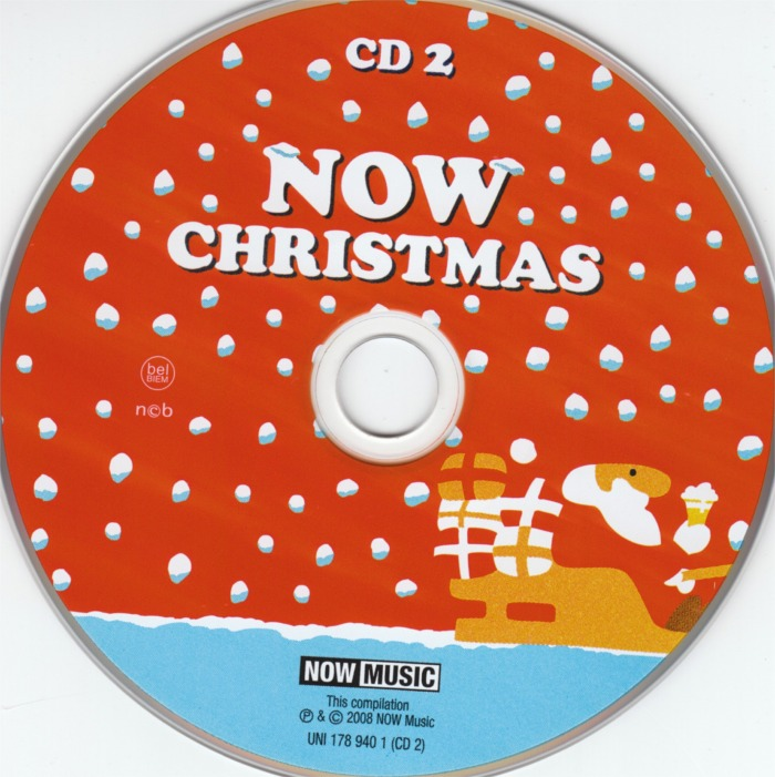 Now Christmas 2008 cd 2